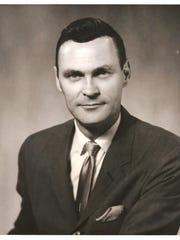 Bill Brittain, 86, served on the Commission for 12 years in the late 1970 and early 1980s. This photo is from 1961.