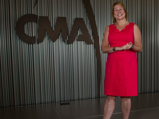 Sarah Trahern, chief executive officer of the Country Music Association