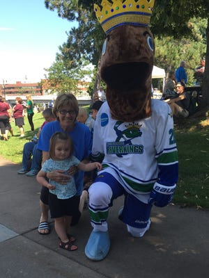 The Wisconsin Rapids RiverKings are inviting fans to name their mascot.