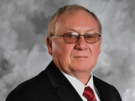 Delbert Slusher, Republican candidate for Pike County Sheriff in 2016.