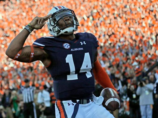 SEC Auburn Marshall Football
