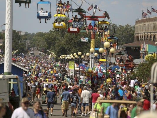 Iowa State Fair.