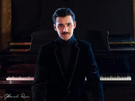 Pietro Bonfilio will be the guest pianist at Ariana