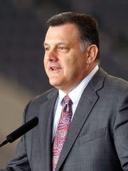 Former USA Gymnastics president Steve Penny in 2014.