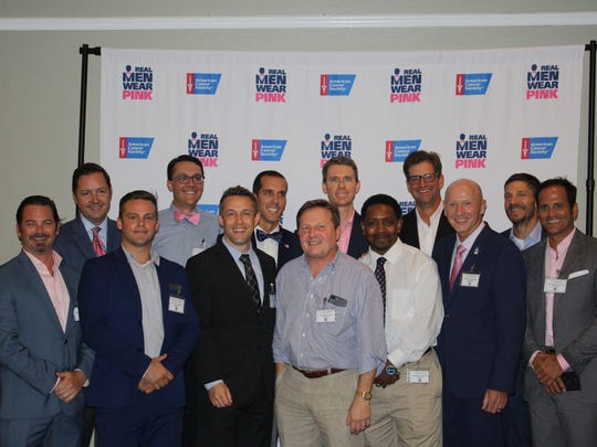 Pensacola's Real Men Wear Pink campaign raised more than $110,000 for the American Cancer Society and led the state in fundraising for the second straight year.