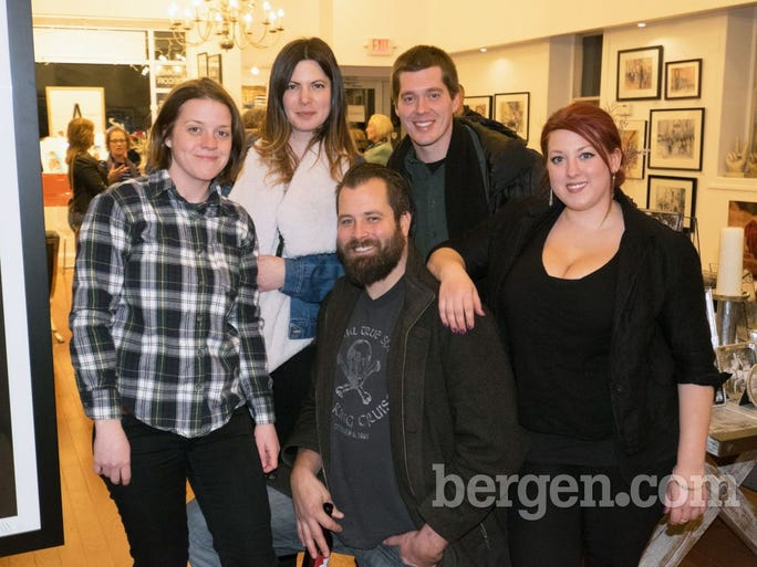 Hannah McVeigh, Lauren Smith, Dave Filchak, Larry Scacchetti, Juline Moreland (Photo by Andrew Bisdale)
