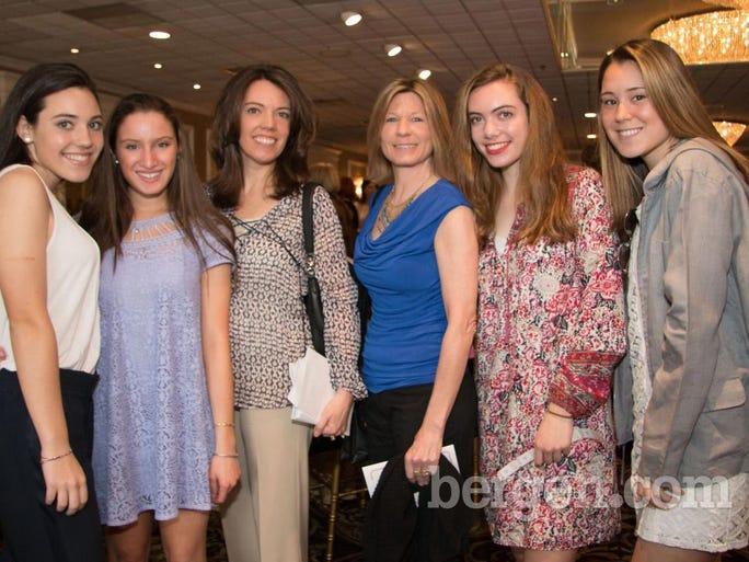 Gianna Cangelosi, Gianna Bozzetti, Debbie Cangelosi, Lisa Josephs, Daniella Cangelosi, Christine Josephs (Photo by Charlene Wisnewski)