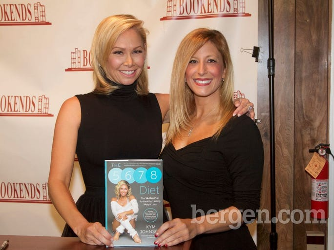 Kym Johnson and Laurie Papendicki (Photo by Richard Formicola)