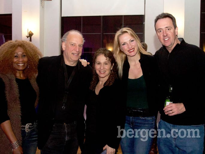 Janice Fox, David Fox, Sally Skoric, Jay Friedman, Jay Baney (Photo by Richard Formicola)