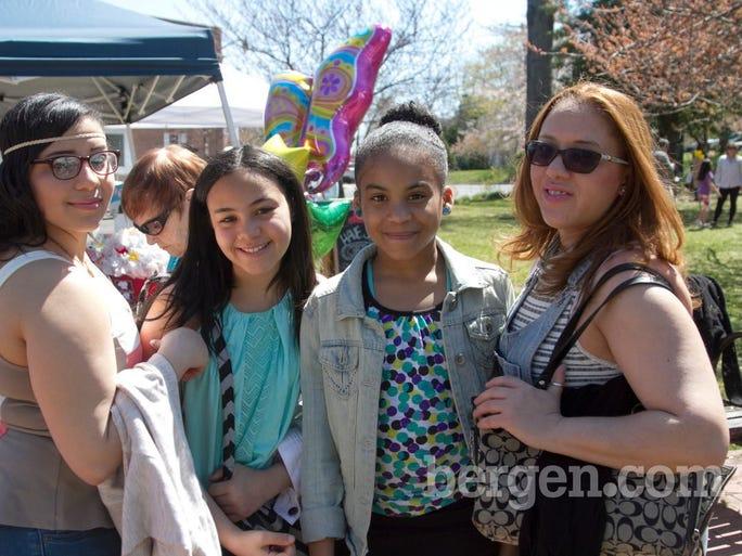 Erika, Joanne, Emily, Maria (Photo by Richard Formicola)