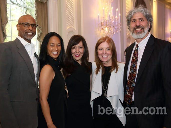 Harold Dawson, Jr.; Christina Wilson; Helen Herssens; Annie Hausmann; David Hausmann (Photo by Seth Litroff)