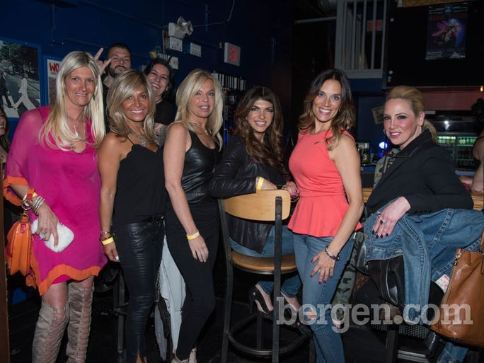 Nadine Arslanian, Patty Balen, Lisa Fortunato, Teresa Giudice, Noelle Brescia and Maria Falcia (Photo by Jeremy Smith)
