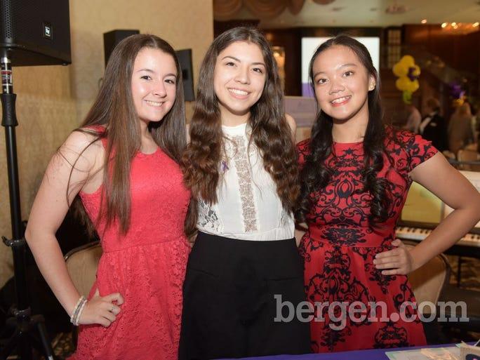 Gabriella Ligresti; Jamie Wilkins; Nina Matammu (Photo by Eugene Parciasepe Jr.)
