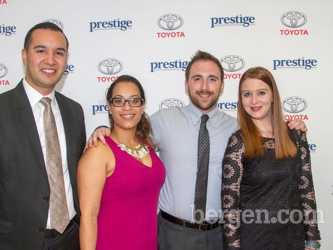 Edgar Gonzalez, Naomi Fotovich, Adam Sansone, Jenna Staudi (Photo by Richard Formicola)