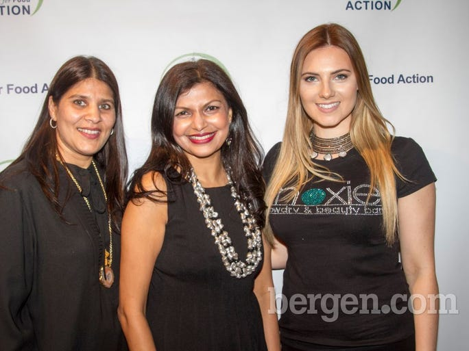 Neelima Jain, Reena Mathur, Brie Dixon (Photo by Richard Formicola)