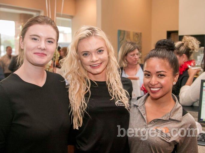 Christina Hall, Alexa Van Beveren, Sarah Padilla (Photo by Richard Formicola)