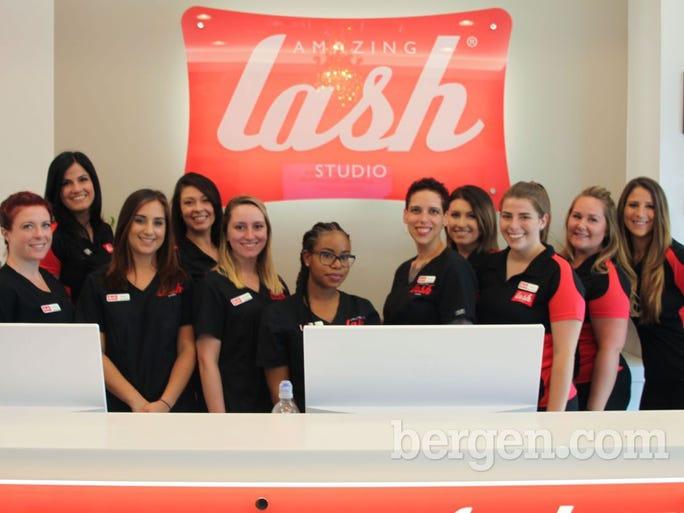 The staff at Amazing Lash Studio