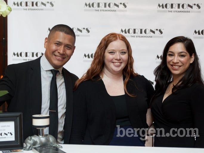 Renzo Ochoa, Kassidy Fleisher- Sales and Events Manager Morton's, Nejelin Montesino
