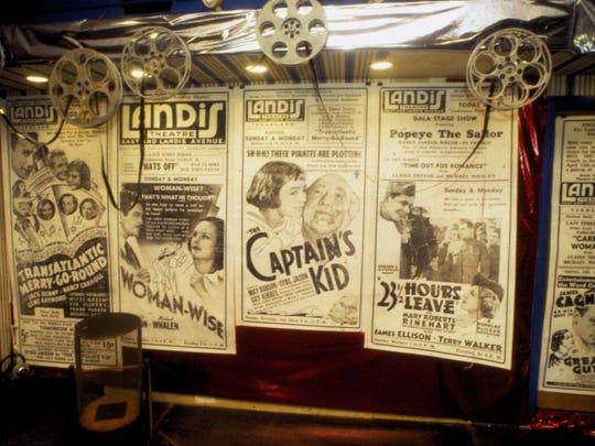 Open house at Landis Theatre. 5/1/93.