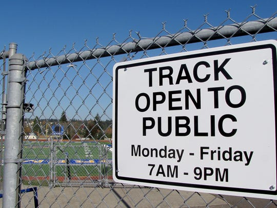 Signs installed recently at Bremerton Memorial Stadium indicate that the facility is only available to the public five days per week.