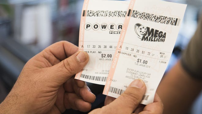 Arizonans on average shelled out $100.85 per capita on lottery tickets in 2015, according to a study by LendEDU. For Americans overall, the per-capita figure was $206.69.