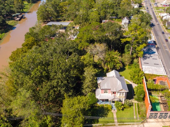 This 3 bedroom, 3 bath home is located at431 E. Bridge