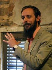 Easley city planner Blake Sanders