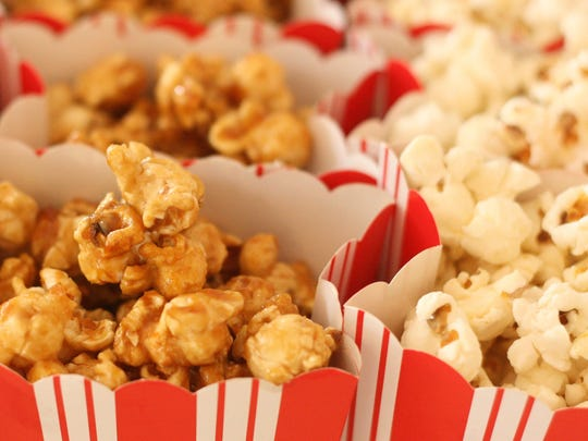 Popcorn comes in all kinds of flavors.