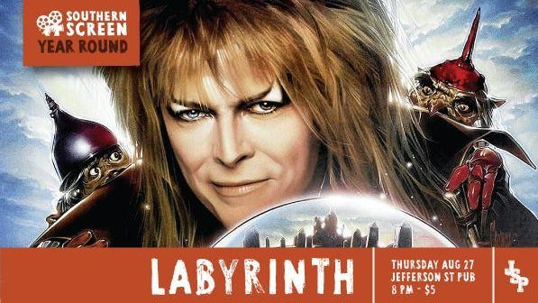 "See ""Labryinth"" at 8 p.m. Aug. 27 at Jefferson Street Pub."