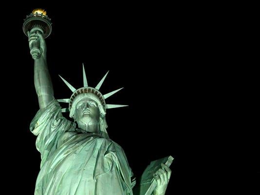 Statue of Liberty Lighting