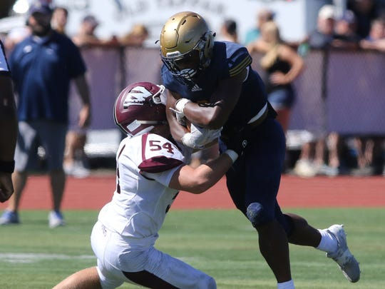 NV/Old Tappan senior RB Marquez Antinori and the top-seeded Golden Knights will play No. 8 Teaneck in the first round of the North 1, Group 4 playoffs.