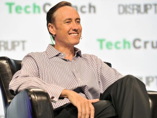 DFJ Partner Steve Jurvetson speaks onstage during TechCrunch