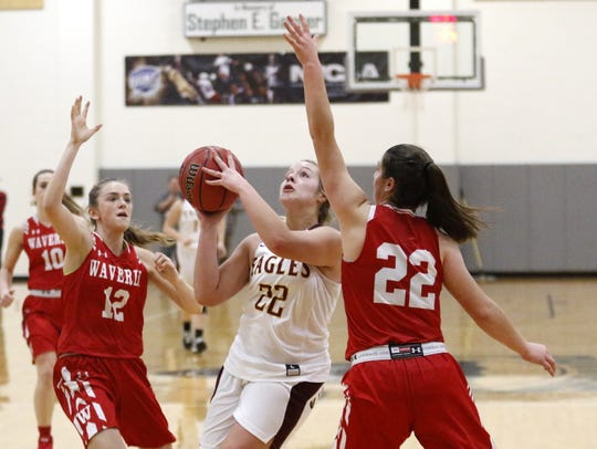 Olivia Driscoll of Whitney Point drives in between