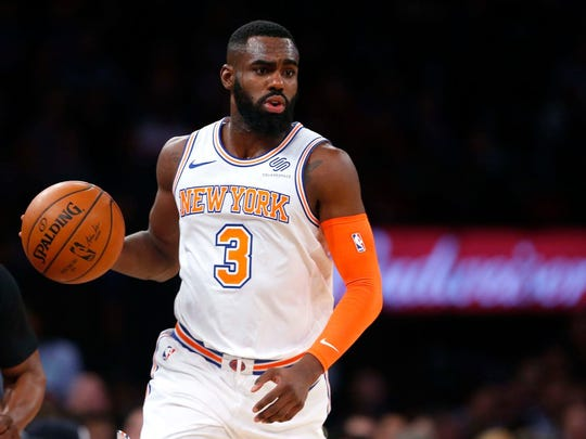 New York Knicks forward Tim Hardaway Jr. (3) during