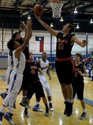 Cade Breeze (33) and the Nocona Indians have what it takes to go three rounds deep in the postseason, but Peaster present a serious challenge in the quarterfinals.