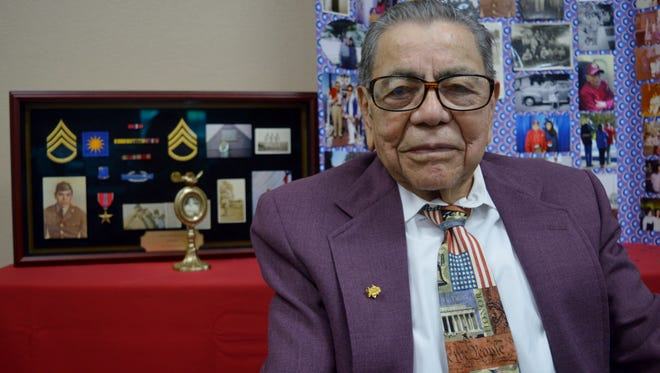 Augustine Chavez is a 100-year-old WWII veteran. He served in the United States Army for five years from 1940 to 1945. On Wednesday, he celebrated 100 years of life.