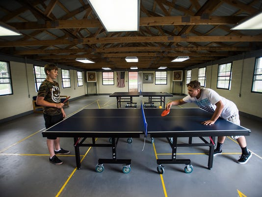 Activities such as ping pong and darts are ready at the new Youth Activity Center at the Gettysburg Area Rec Park located on Long Lane. The Gettysburg Area Recreation Authority opened the building May 22. Located behind the main recreation center, the space is open free to the public. Gettysburg Area Recreation Authority director Brian Devost hopes kids can use the multipurpose space in the future for movie nights, games and battle of the bands concerts.