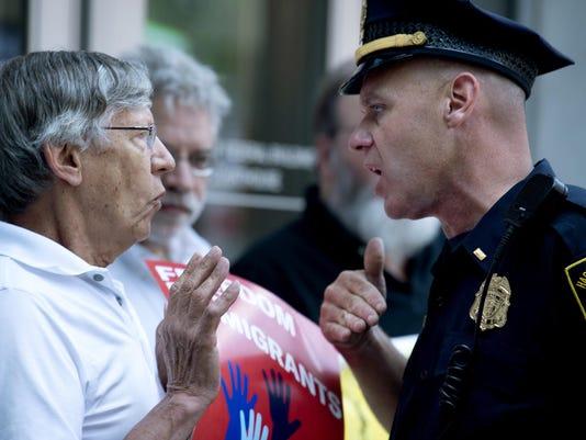 Immigration Protest Hartford