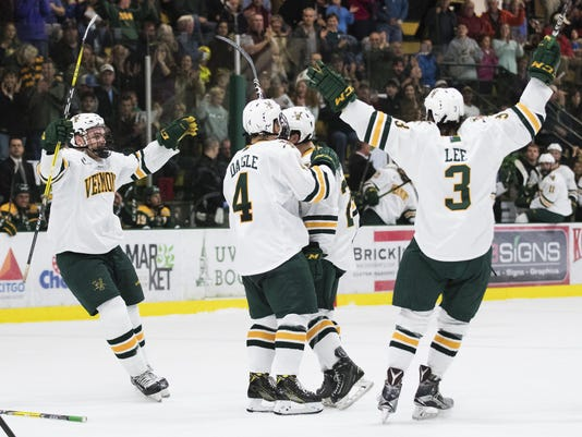 Clarkson vs. Vermont Men's Hockey 10/08/16