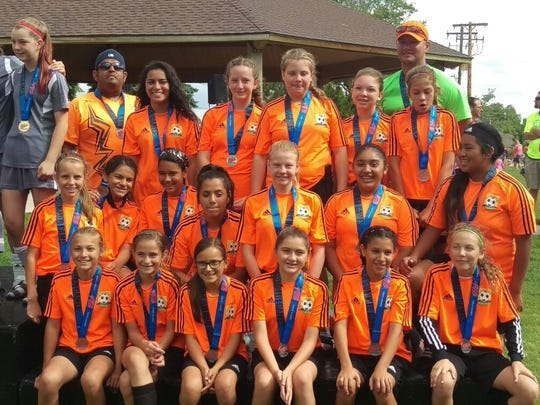 FC Mesquite team CRUSH placed second at the Utah Summer
