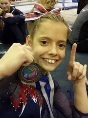 All-American Flames gymnast Sage Kellerman is the Times