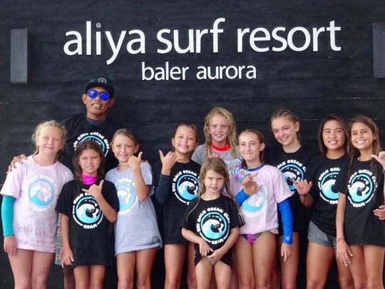 Team Guam, ages 7-14, made the trip to Baler,  for the Aliya Wahine Cup 2017 in Baler, Philippines.