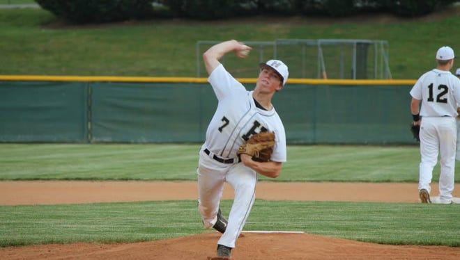 Hayesville senior Tyler Leek has committed to play college baseball for North Greenville.