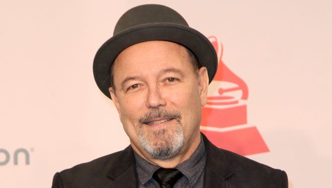 Ruben Blades poses in this undated photograph.