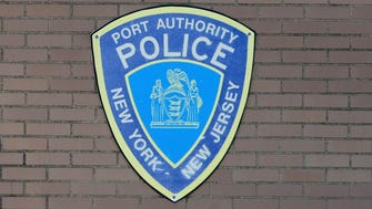 Port Authority Police Logo on headquarters.