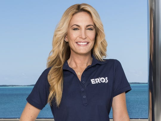 Kate Chastain has been the chief stew on Bravo's yachting