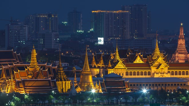 The Grand Palace has been the official residence of the kings since 1782.