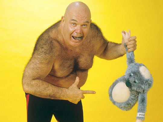"WWE Hall of Famer George ""The Animal"" Steele was known"