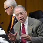 Sen. Chuck Grassley, R-Iowa, ranking member of the Senate Judiciary Committee.