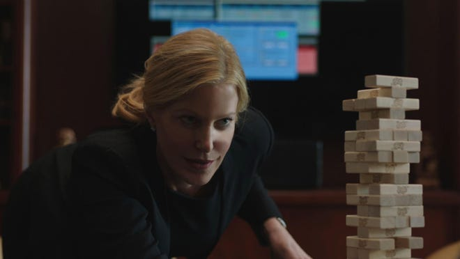 "Anna Gunn in a scene from ""Equity."""